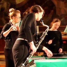 Bass clarinet Bangor NMF 2013